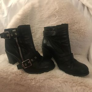 All Saints Biker Boots